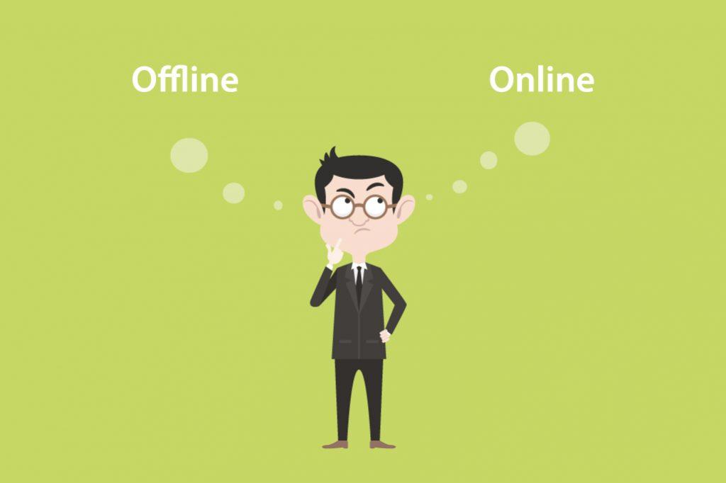 Ist Werbung online oder offline besser?