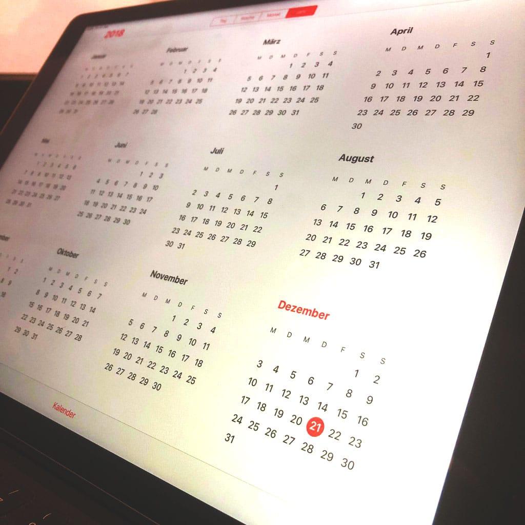 In 5 Minuten einen Jahresplan für Blogbeiträge erstellen