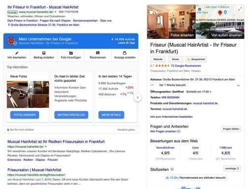 Was ist ein My Google Business Eintrag?